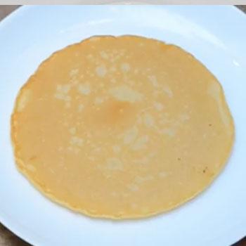 Base de panqueques rinde para 10 porciones del tamaño de 1 disco