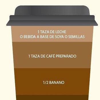 Café de la mañana rinde para 1 porción