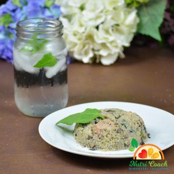 Lomo de cerdo con quinoa