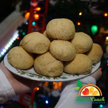 Pan cena de camote rinde para 16 panes
