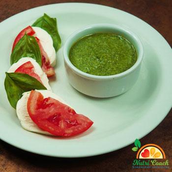 Pesto (rinde para 1 <sup>1</sup>/<sub>2</sub> taza)