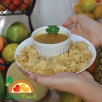 Salsa picante de papaya