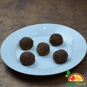 Trufas de chocolate y naranja. Rinde para 16 trufas